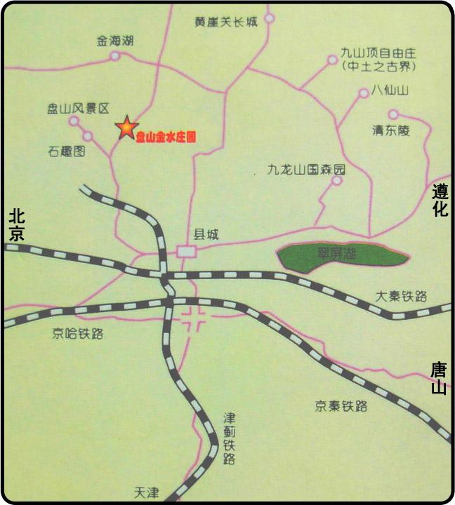 天津蓟县旅游景点地图图片大全下载