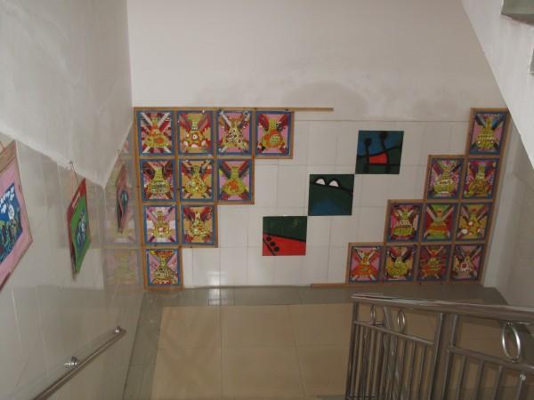 幼儿园走廊立体吊饰