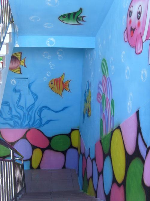 幼儿园卡通画素材海底世界