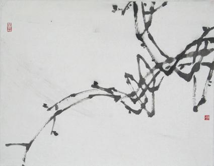 写意花鸟画教程(一)--葡萄的画法