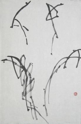 写意花鸟画教程 一 葡萄的画法