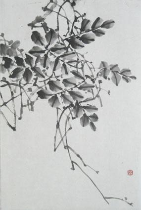 写意花鸟画教程(五)--凌霄和牵牛花的画法