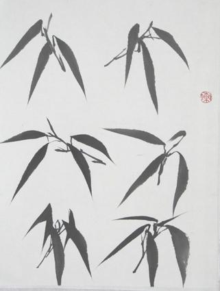 )--竹子的画法