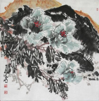 写意花鸟画教程(九)--牡丹的画法