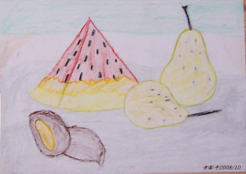 儿童简笔画,定远文化长廊