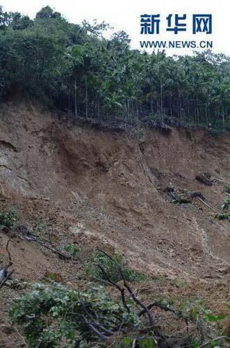 海南陵水县吊罗山发生山体滑坡 125名游客被困