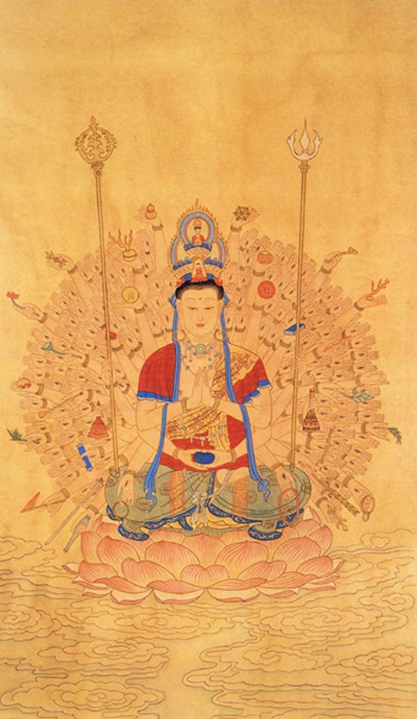 佛教歌曲 大悲咒 佛教音乐 梵音动听版 小仙 美丽的莲花仙...