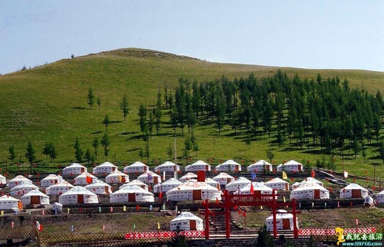 内蒙古正蓝旗上都游蒙古包厂