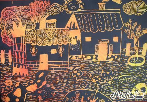 豆子粘贴画图片大全-警车   可爱的豆子拼贴画:儿童手工画