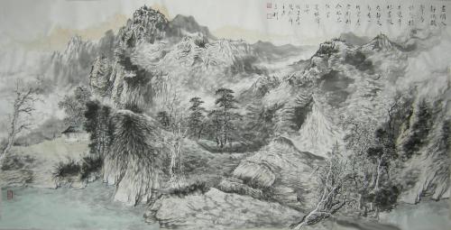 作品《枯木逢春》被中国美术家协会收藏.