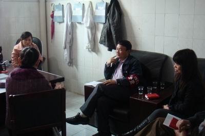 赵娟副县长到乡镇卫生院调研卫生工作