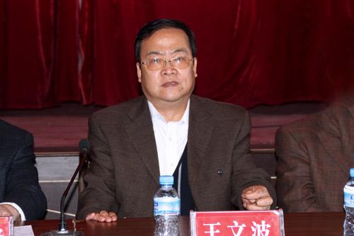 县人大常委会主任王文波出席会议