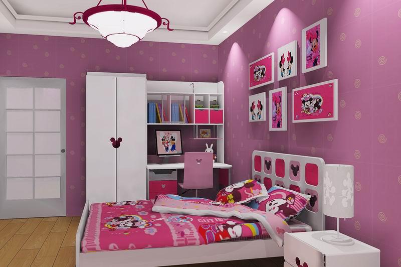 迪士尼儿童家具活力米奇室内效果图