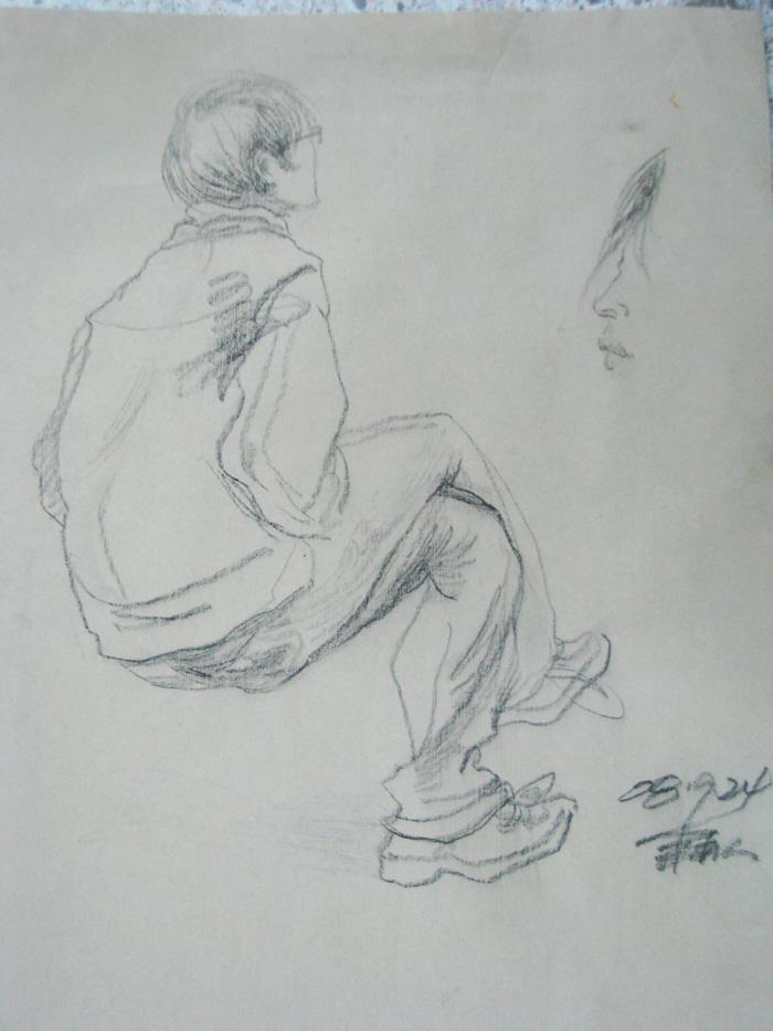 人物素描-(作品集)