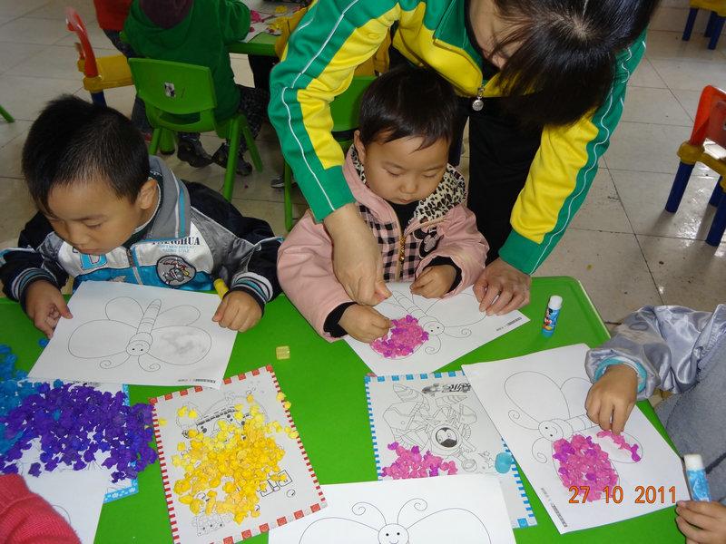 小孩学画画图片大全蝴蝶