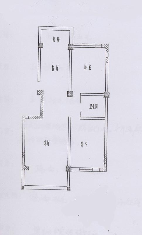 农村五层二间电梯楼房设计图