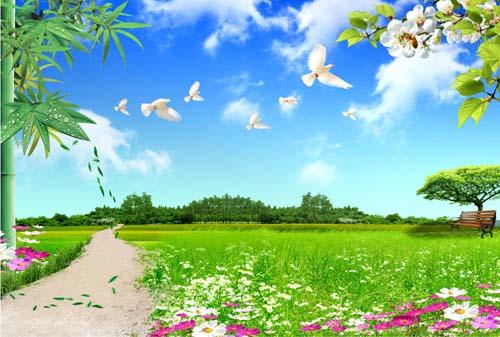描写美丽的山的词语_摘抄描写春天景色的优美的四字词语- _汇潮装饰网
