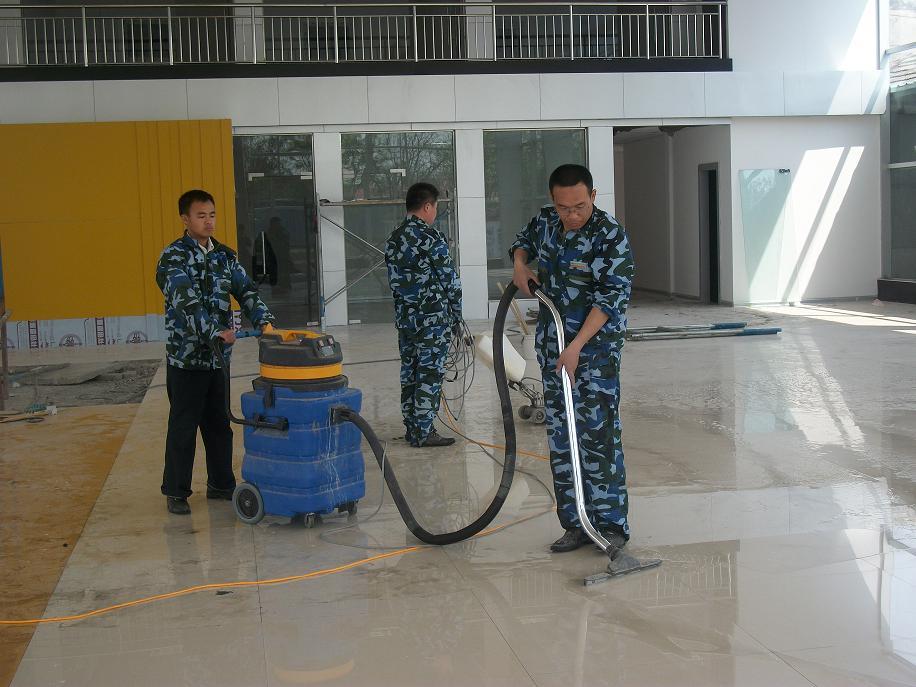 面拓荒清洁中 物业保洁托管 -洁士企业物业 清洗 保安 商贸