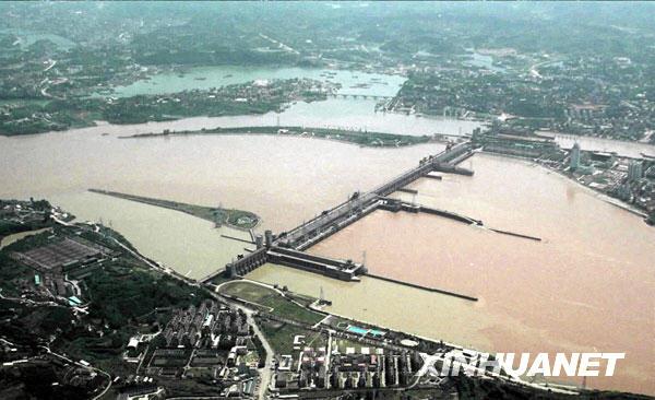 三峡葛洲坝地理位置图解