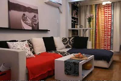 小户型时尚客厅装修设计