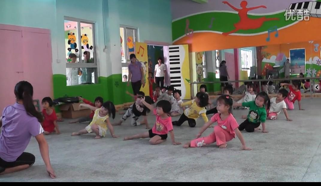 新蕾幼儿园舞蹈基础训练