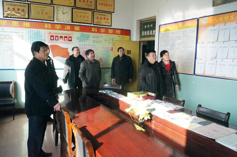 临汾市人口计生委主任一行到汾西县慰问 -汾西县人口与计划生育局
