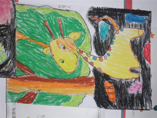分园蒙大班环境布置及幼儿画展