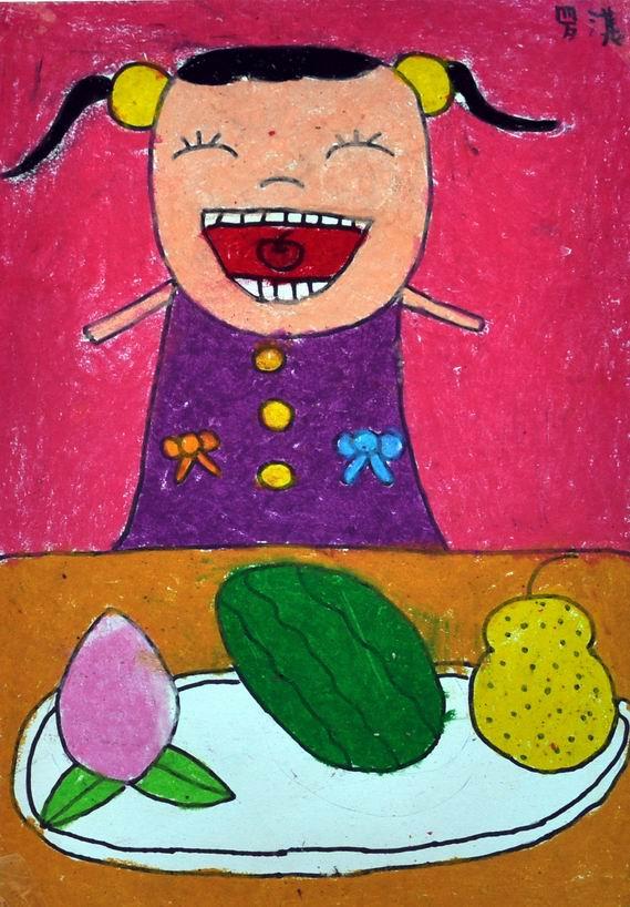 罗淇(儿童画一等奖)