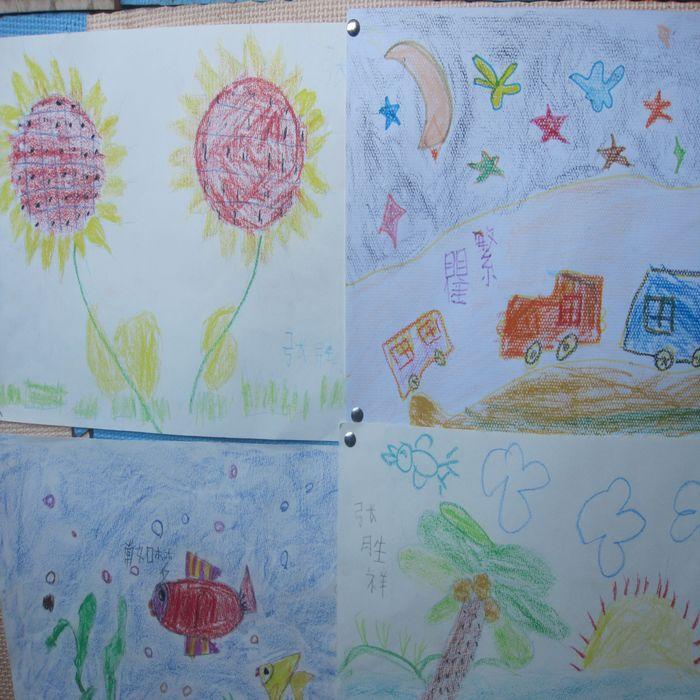 小学生二年级教师节画画作业