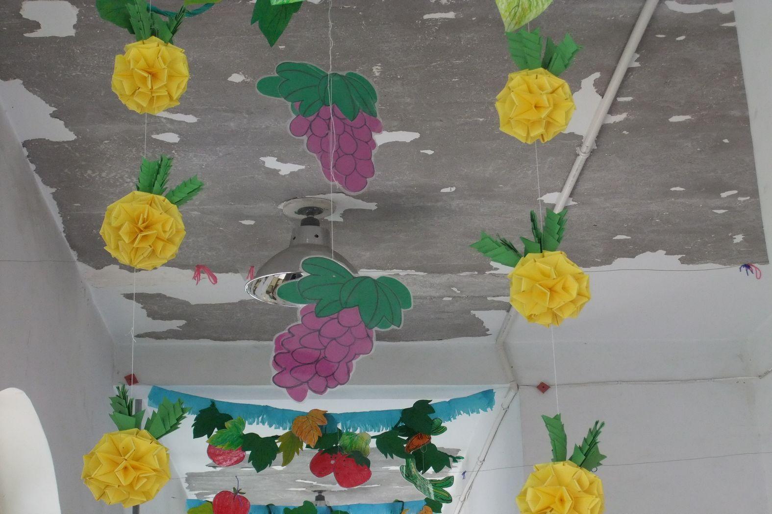 design 幼儿园走廊创意布置_第3页_画画大全  幼儿园墙面布置边框_第3