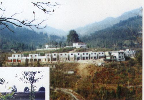 龙川县岩镇风景