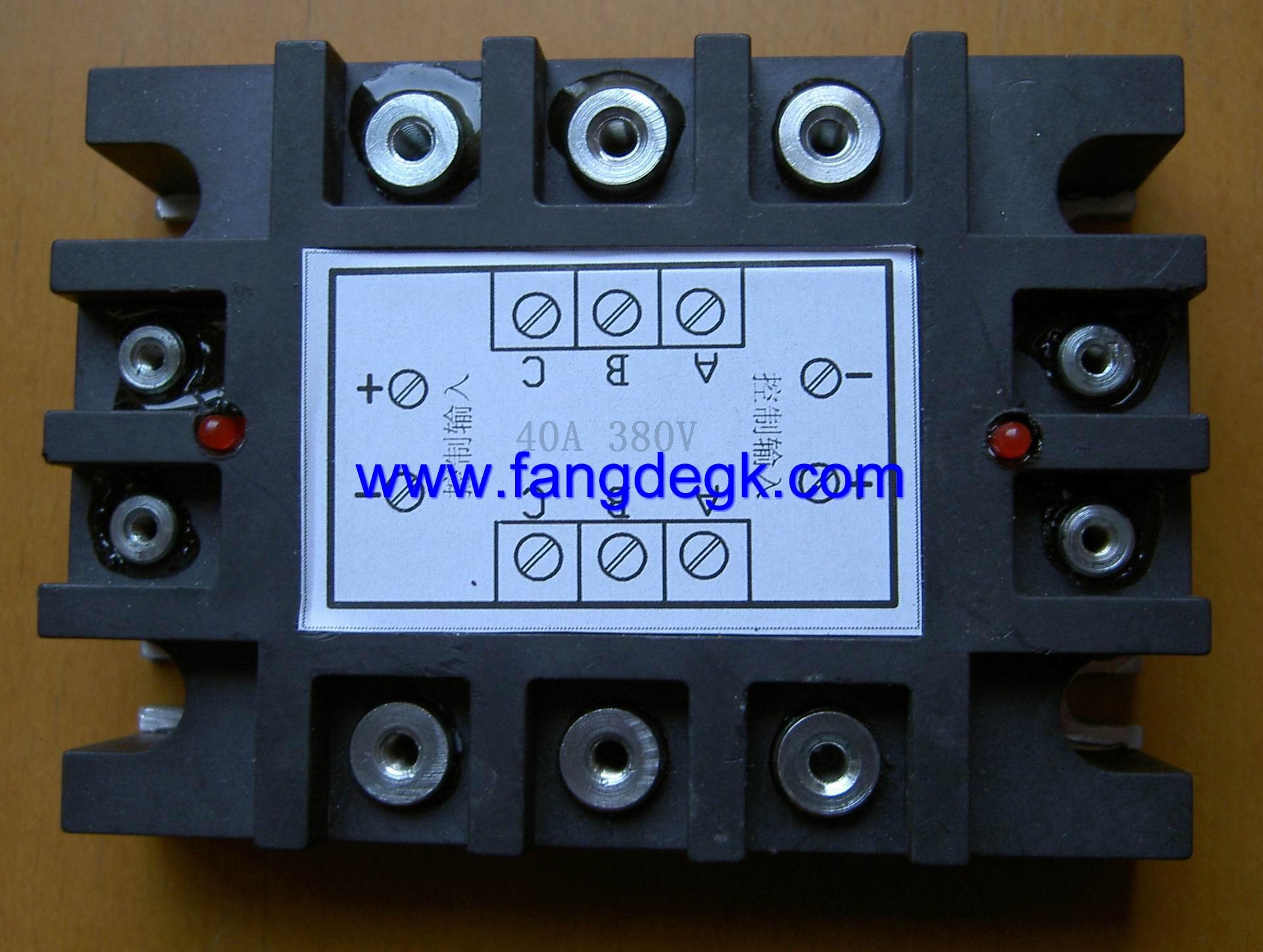 三相固态继电器;;; 三相正反转控制固态继电器