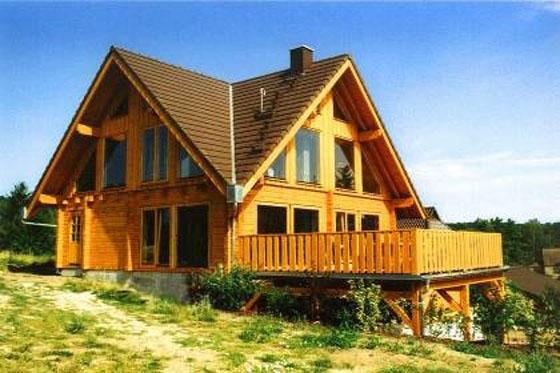 单檐小型木屋图片