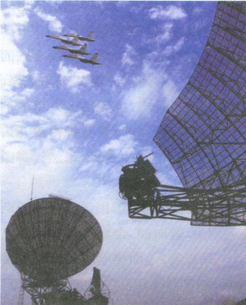 雷达部队比武板报