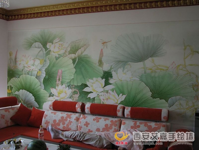 西安艾嘉手绘墙