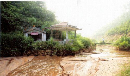 龙川风景区水灾