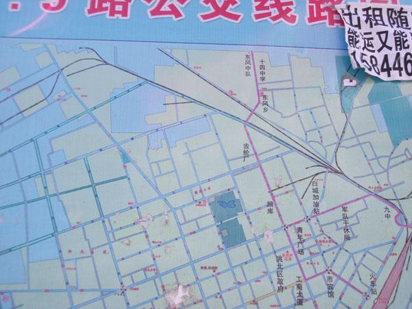 9路公交线路地图