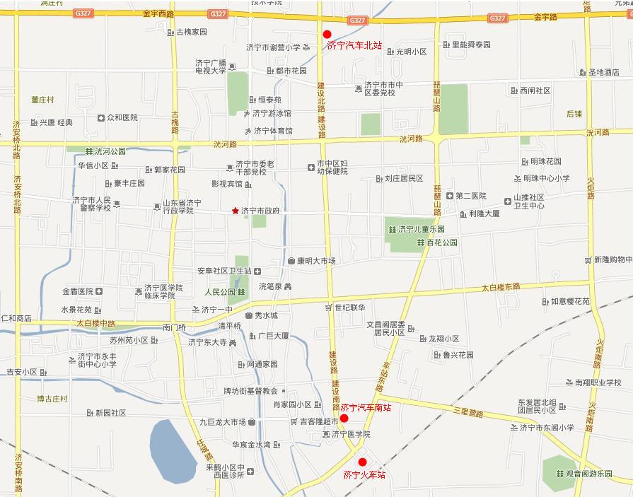 火车站地图